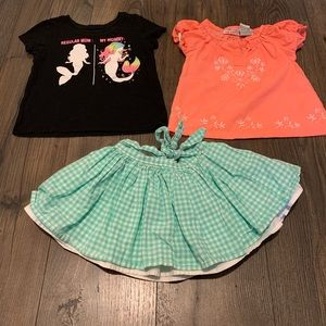 Girl outfit size 2T
